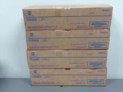 4 New Genuine Konica Minolta TN217 Toners