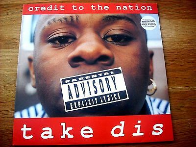 Credit To The Nation - Take Dis - First Pressing - Hemp Sleeve - Vinyl Near Mint