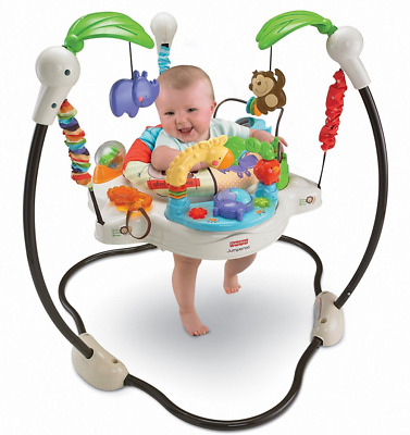 Baby Jumperoo Jumper Activity Bouncer Jungle Toys Seat Musical Learning Center
