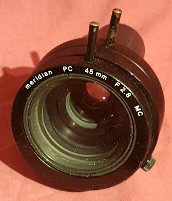 Meridian PC 45mm F2.8 MC Projection Lens