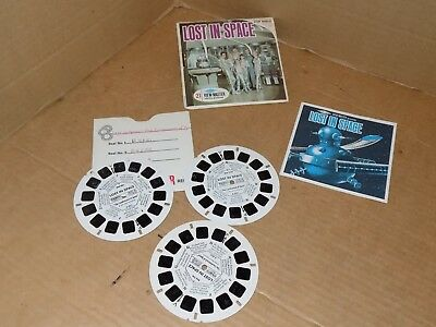 1967 Lost in Space view master complete set Cover, booklet and reels