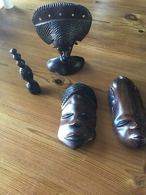 Collection Wooden Art Carvings