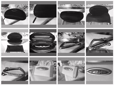 OAKLEY Lot! >>Silver Carabiner+HardCase+SoftCase+Display Cube! Winner Takes All!