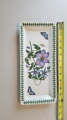 Portmeirion BOTANIC GARDEN Virgin's Bower Sandwich Tray 9631405