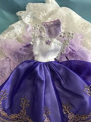 Barbie Doll Wedding Gowns & Party Dresses X3 Gowns