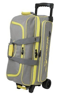 Storm Streamline 3 Ball Bag Black/Grey/Yellow