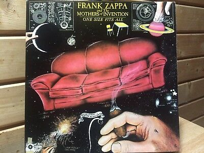 Frank Zappa And The Mothers Of Invention - One Size Fits All 1975 LP