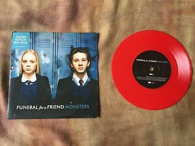 """Funeral For A Friend """" Monsters """" Coloured Vinyl 7"""""""