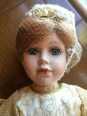 Authenticity Heritage porcelain Angel doll Papers, box