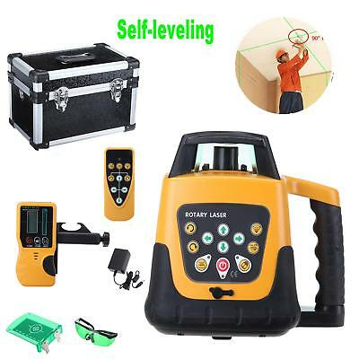 Horizontal & Vertical Green Beam Self-leveling Rotary Laser Cross-Line Level Kit