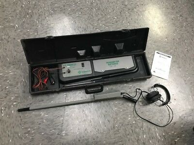 Greenlee 521A Wire And Valve Locating System