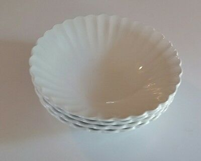 J & G Meakin CLASSIC WHITE Cereal Bowl Set of 4