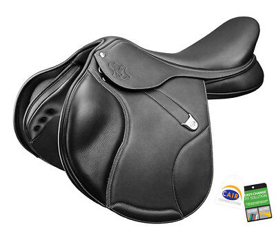 Bates Elevation DS + Luxe Close Contact Adjustable CC Saddle CAIR Black/Brown