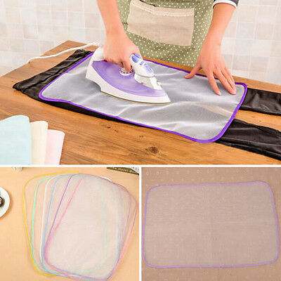 Heat Resistant Ironing Cloth Protective Insulation Pad Home Ironing Mat Mesh PP