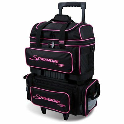 Storm Streamline 4 Ball Roller Bowling Bag Black/Pink
