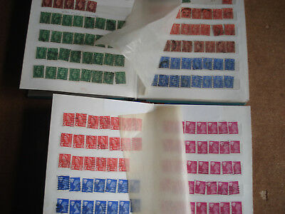 2 GB Stamps Stock Books