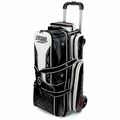 Storm 3 Ball Rolling Thunder Signature Series Bowling Bag, Black