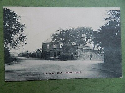 Old Postcard - Clousden Hill , Forest Hall , Newcastle Upon Tyne