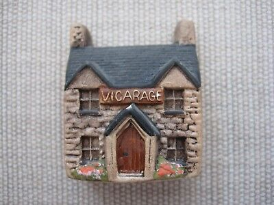 Set of Two 2 Philip Laureston Miniatures - The Vicarage (703) & The Garage (724)