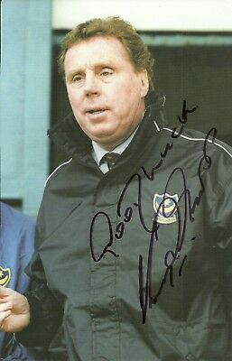 Harry Redknapp - Portsmouth - Signed Original Magazine Picture [A4]