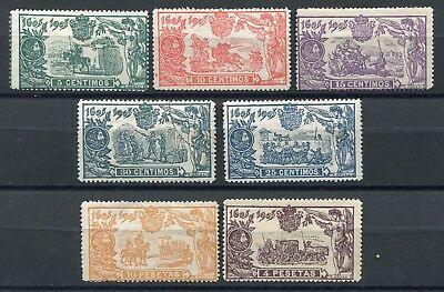 SPAIN -  Selection classics, 1 cancelled, 5 MH, 1 Mint no gum