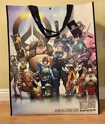 SDCC 2016 Blizzard Exclusive Overwatch Super Oversized Large Tote Bag