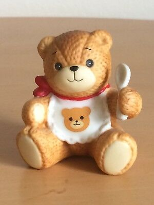 """Lucy Rigg~Lucy and Me Bear """"Baby with Bib and Spoon"""""""