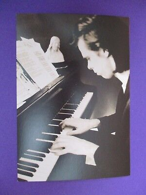 Nick Cave Are You The One That I've Been ORIGINAL 1997 UK PROMO POSTCARD 2 sided