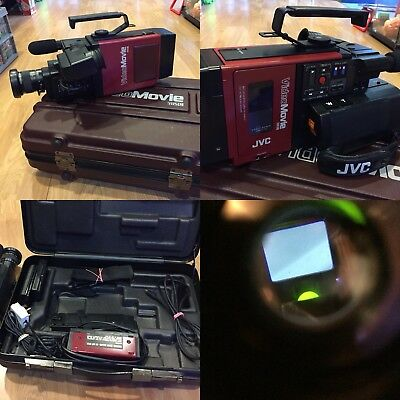 Back to The Future JVC GR-C1E Video Camera Working Prop Rare