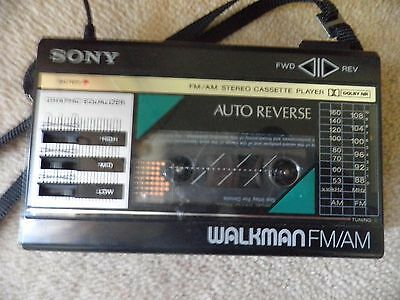 Vintage Sony Walkman Wm - F28 Fully Working Collection Preferred Look At Photos