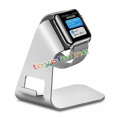 Aluminum Apple Watch Stand Charging Dock Station Holder For iWatch iPhone