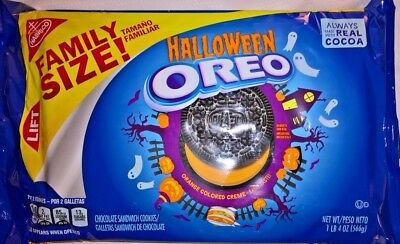 LIMITED EDITION Halloween Oreo Chocolate Sandwich Cookies USA Import RARE 566g