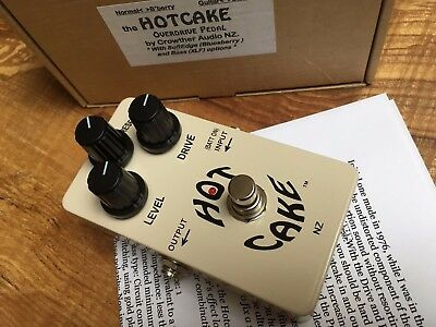Crowther Audio Hot Cake Overdrive Effects Pedal