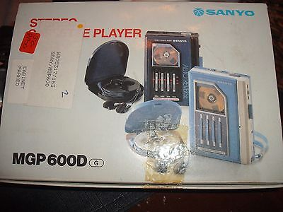 Very Rare Vintage Sanyo Walkman MGP 600D Immaculate Condition