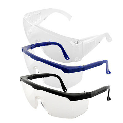 Protective Portable Safety Eye Protection Clear Goggles Glasses From Lab Dust