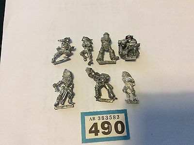 Warhammer 40k METAL spares and repairs mini lot#490b