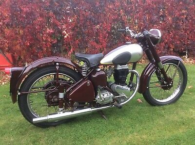 BSA c11 250 ohv 1954 runner for sale with no reserve