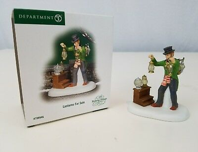 DICKENS VILLAGE Accessory Dept 56 LANTERNS FOR SALE #799946 with Box