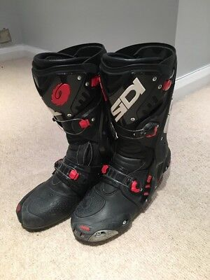 sidi vortice Air Vented Motorcycle Sports Racing Bike Boots UK 8