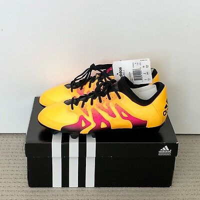 Adidas X 15.1 FG/AG J S74615 Youth Soccer Football US 5.5