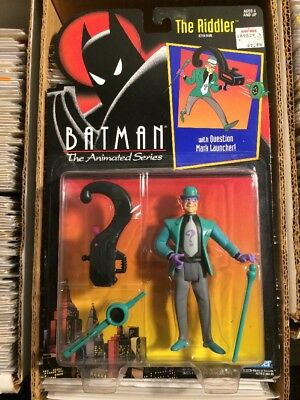 Kenner Batman Animated Series The Riddler action figure, New!