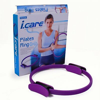 JOEREX I.CARE Pilates Ring Power Resistance Full Body Toning Fitness Circle