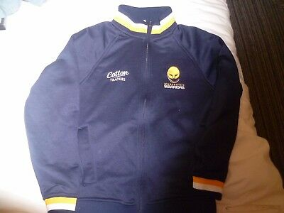 WORCESTER WARRIORS rugby union jacket top size LB Large Boys