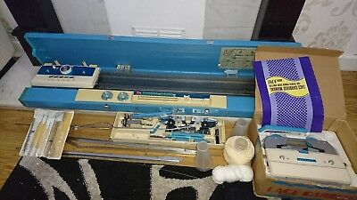 Toyota Knitting Machine K747, Lace Carriage With Accessories.