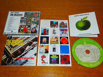 The Beatles 1969 Glyn Johns 'get Back' Apple Acetate Cd Remastered + Extras Mint