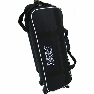Tenth Frame Glide Triple Tote Black