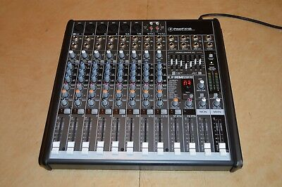 Mackie PROFX12 12-Channel Compact Effects Mixer with USB Excellnt Condition!