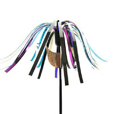 """Cats Claw Teaser Mylar Streamers 18"""" Wand Pick Color Free Ship In The Usa Only"""