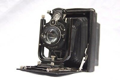 beautiful ICA ORIX 308 with  ZEISS Tessar 16.5cm f4.5,  NO RESERVE!  99p start
