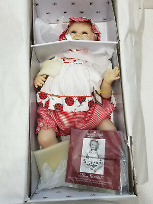 "ASHTON-DRAKE Poseable Doll ""TINY TICKLES!"" by Bonnie Chyle - NEW - Free Shipping"